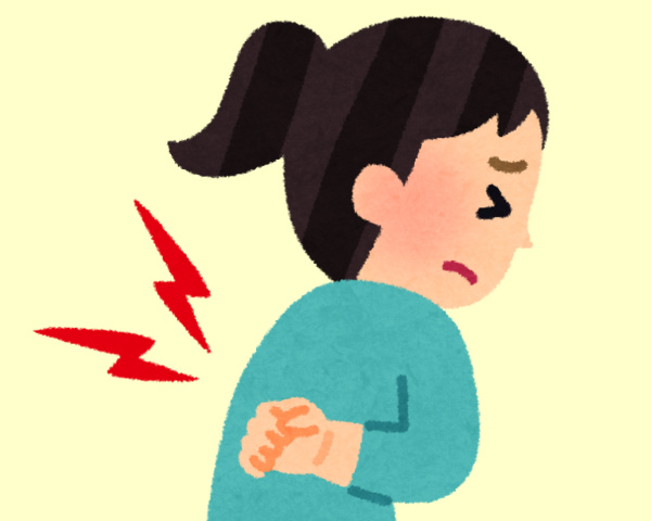 背中や肩甲骨の痛み、うずきの原因と治療